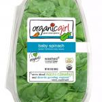 Organic Baby Spinach 16 oz.